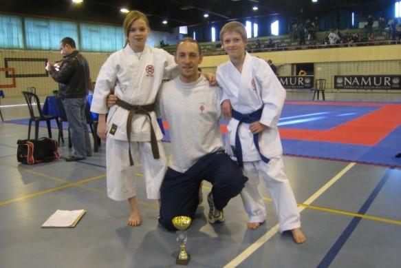 Le Shitokai Karate Evere au Championnat F.F.K.A.M.A.