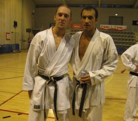 Stage de karate avec Christophe Pinna