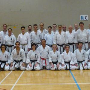 Stage pour ceintures noires avec Maître Ishimi