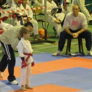 "Le Shitokai Karate Evere à la ""Coupe de l'Avenir: kumite"""