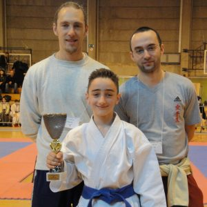 Une 3ème place pour Flamur Hamiti au Championnat GFK