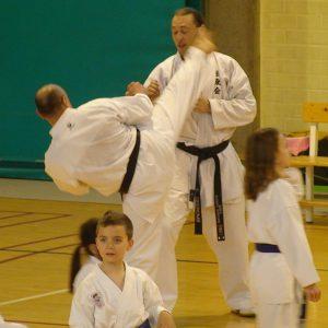 Le Shitokai Karate Evere au Stage GFK