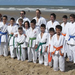 Le Shitokai Karate Evere au stage Estival