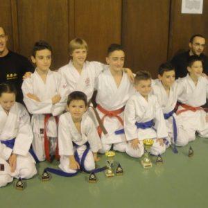 Trois podiums pour le Shitokai Karate Evere