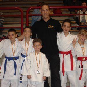 Coupe Internationale Goju-Ryu: les résultats