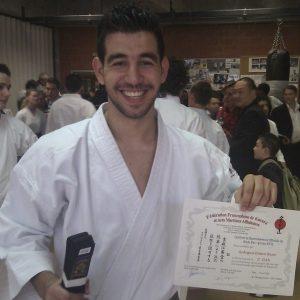 Basri Aydogan, la nouvelle ceinture noire du SHITOKAI KARATE EVERE