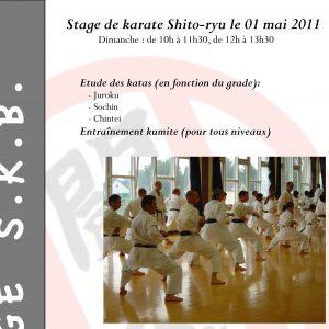 Stage Shitokai Belgium à Wavre