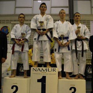Le SHITOKAI KARATE EVERE au Championnat de Belgique