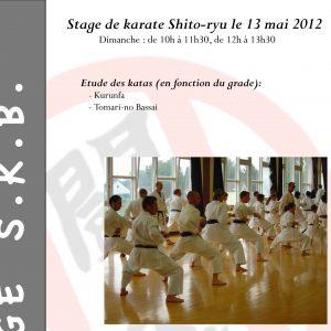 Stage Shitokai Belgium @ Havré