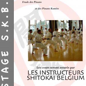 """Le Shitokai Karate Evere au stage """"Shitokai Belgium"""""""