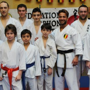 Stage KATA sous la direction d'Yvan Rodriguez: CHAMPION D'EUROPE