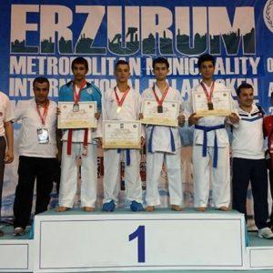 Liridon Demiri obtient une 3ème place en Turquie
