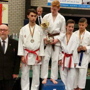 Liridon Demiri est Vice-Champion de Belgique