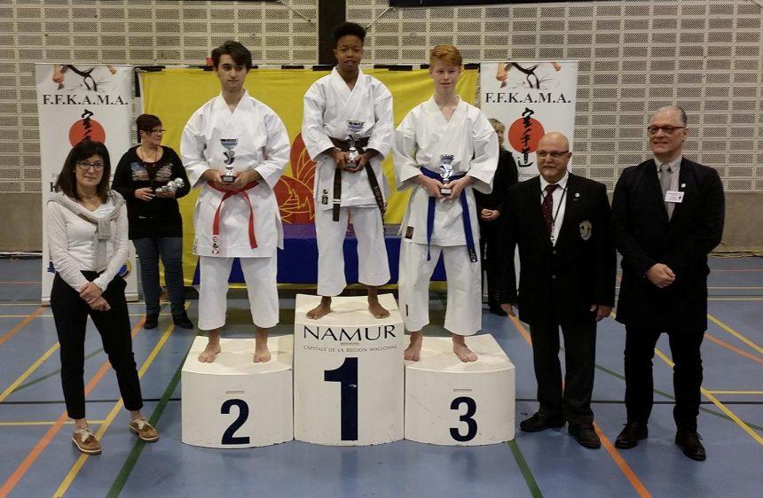 "3 podiums au ""Championnat Francophone"""