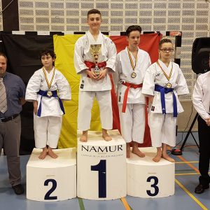 Superbes résultats au « Championnat de Belgique KATA »