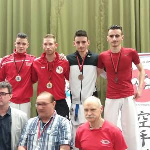 2 médailles à l'Open du Luxembourg