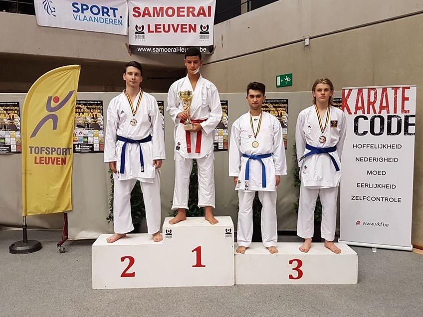 Une troisième place pour Liridon Demiri au Belgian Open