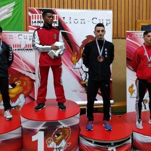 Une 3ème place pour Liridon Zenelaj à la Lion Cup