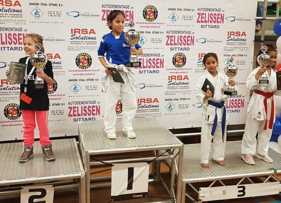 Rania Benaïssa remporte une 3ème place à Sittard