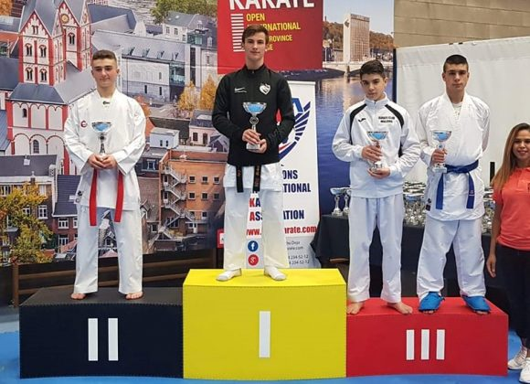 Trois podiums à l'Open International de Liège