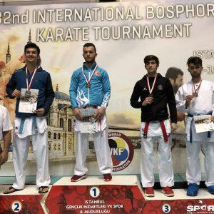 Une 3ème place pour Liridon Demiri à la Bosphorus Cup en Turquie