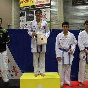 10 podiums au Championnat Francophone