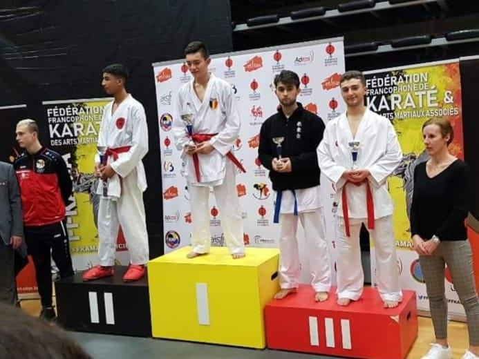 3 podiums au Championnat Francophone
