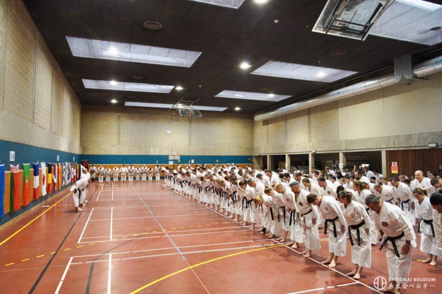 Le SHITOKAI BELGIUM réunit 350 karatékas à Louvain-la-Neuve