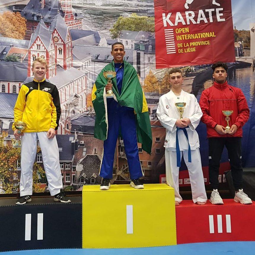 Deux podiums à l'Open International de Liège